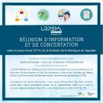 Réunion d'information CPTS à Thionville le 24 mars 2020